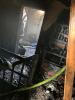 Stare Olesno pożar budynku mieszkalnego -pustostanu