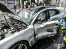 Kolizja samochodów w Dobrodzieniu 4.10.2019