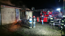 Pożar budynku gospodarczego w m. Goła