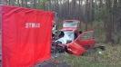 Grożny wypadek na trasie Olesno - kolinia Biskupska_1