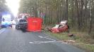 Grożny wypadek na trasie Olesno - kolinia Biskupska_2