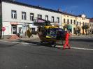 Śmigłowiec LPR na rynku w Praszce