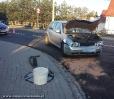 Kolizja drogowa na DK42/45 w Gorzowie Śląskim_1