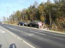 Wachów wypadek lawety przewożącej samochody osobowe