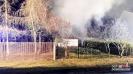 Myślina pożar budynku gospodarczego