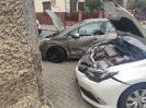 Praszka zderzenie dwóch samochodów osobowych.