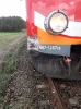 Kolizji ciągnika z pociągiem osobowym
