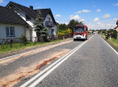 Zderzenie busa z kombajnem